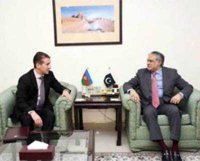 Azerbaijan Ambassador appreciates Pakistan for support