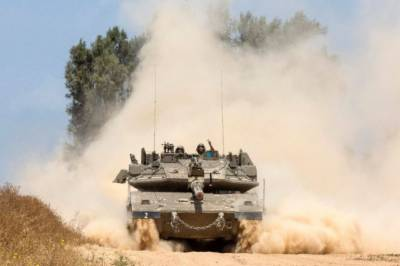 Israeli tank fire targets Hamas post in Gaza