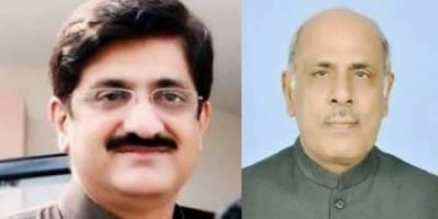 CM Sindh meets Governor Punjab Rafiq Rajwana in Lahore