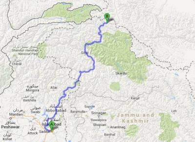 Pak-China 820 Km optic fiber cable project status