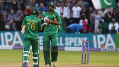 Pakistan Vs. England 5th ODI scoreboard
