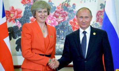 Putin-May first meeting : Will the ice melt between Russia and Britian?