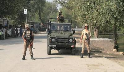 Combing operation : Four terrorists killed, soldier martyred in encounter