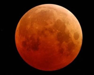 Lunar-eclipse in Pakistan