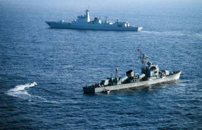 Russia - China combined military drills in South China Sea
