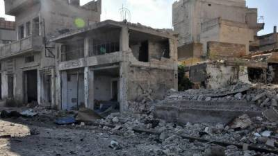 Syria continued to be bombed despite of despite of truce talks