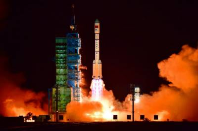 China launches second space lab: Xinhua