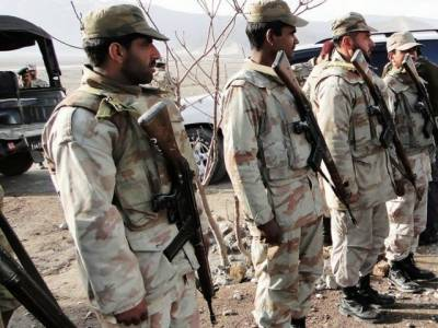 FC Baluchistan seizes huge cache of arms and ammunitions from Sui, Dera Bugti