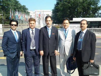 Kashmiri delegations reaches Switzerland to attend UN Human Rights council session
