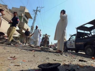 Landmine blast in Nasirabad