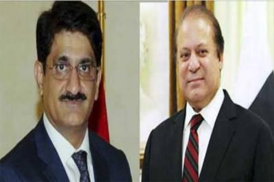 PM Nawaz Sharif phones Sindh CM Murad Ali Shah