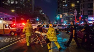 New York City explosion injures 29