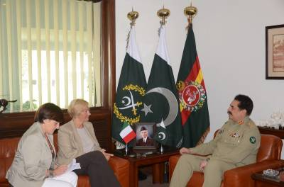 Italian Defence Minister discusses defence collaboration with COAS