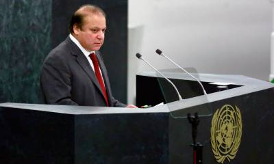 PM Nawaz Sharif addresses UN Refugees and Migrants summit in New York