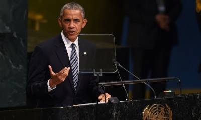 Russia trying to recover past glory by force, accuses Obama in UN address