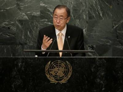 UN chief opens annual General Assembly debate with Syria truce