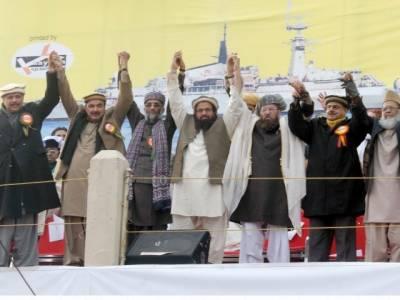 Difa-e-Pakistan Council announces Awami March near LOC