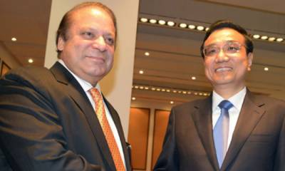 China supports Pakistan stance on Kashmir: Chinese premier