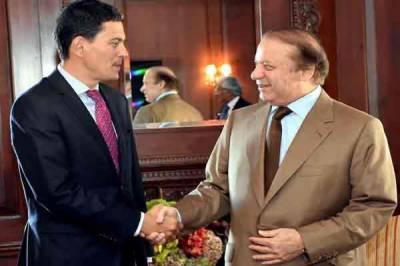 David Miliband calls on Prime Minister Nawaz Sharif