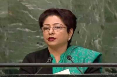 India is beating the war drum : Maleeha Lodhi