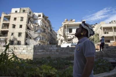 Missiles rain down Syria's Aleppo