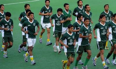 Pakistan Hockey Team defeats Chinese Taipei in Junior Asia Cup in Dhaka