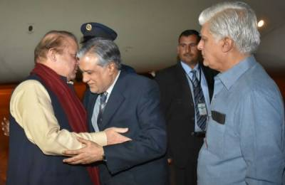 PM Nawaz Sharif lashes out at India upon arrival in London
