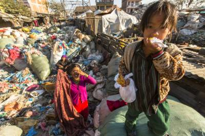 Poverty effects on human age: Research Study