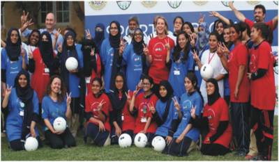 US Consul General hosts volleyball clinic in Karachi