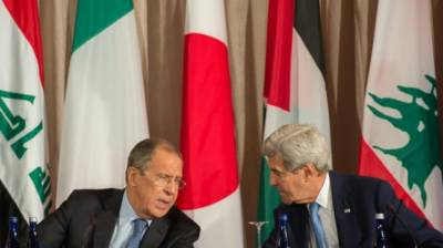 US suspends talks with Russia