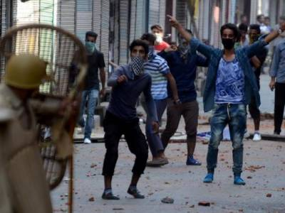IOK echoed with freedom slogan despite of curfew and crackdown