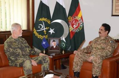 NATO Military Commander appreciates Pak Army valour in fight against terrorism