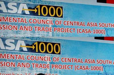Pakistan offers Russia to join CASA-1000 project