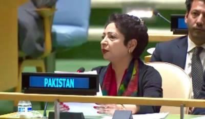 India is a threat to regional peace; Maleeha Lodhi tells UN