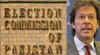 ECP issues notice to Imran Khan