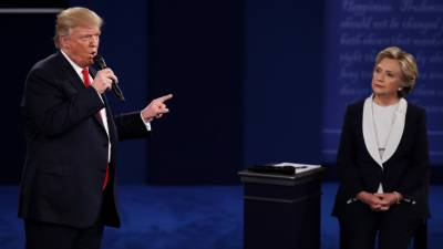 Trump Vs Clinton latest polls after 2nd presidential debate