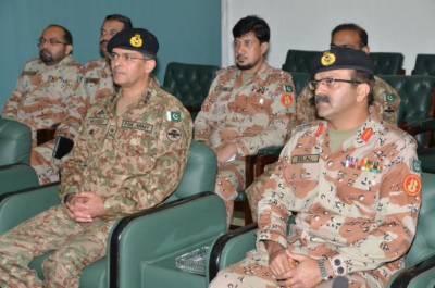 Corps Commander Karachi visits headquarters Pakistan Rangers Sindh