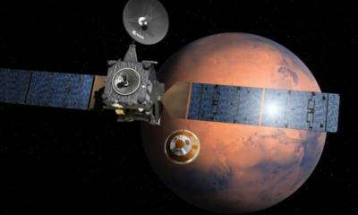 Europe heads for Red Planet Mars in search of life