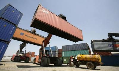 Pakistan exports fall, widening the trade deficit