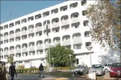 Pakistan hands over Dossier on HR violations in IOK to Britian