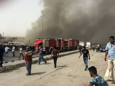 ISIS deadly suicide bombings in Baghdad
