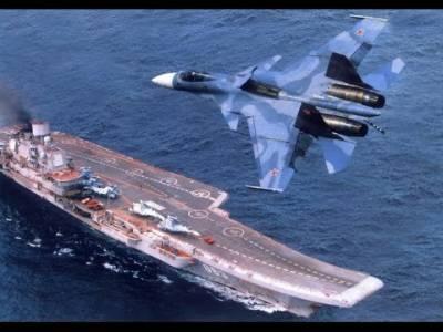 Russian flagship Aircraft carrier leaves for Mediterranean Sea