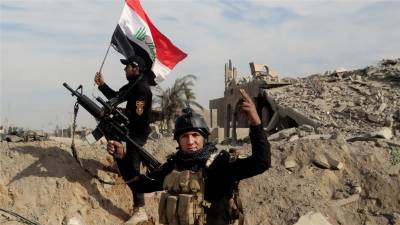Iraqi forces backed by 60 nations coalition launch major offensive on ISIS Hq.