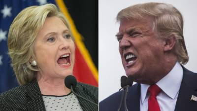 Clinton Vs. Trump latest polls results, 3 weeks before election
