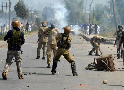Indian Army massive crackdown operation and siege in IOK