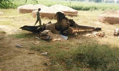 PAF aircraft crashes near Masroor base