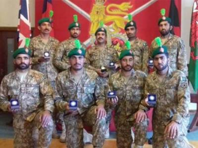 Pakistan Army wins gold medal in International military exercise of 120 Armies