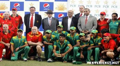 Australia army cricket team beat Lahore Gymkhana