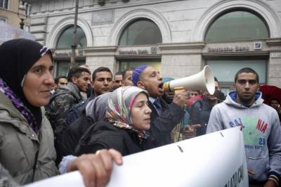 Muslims in Italy protest in Rome