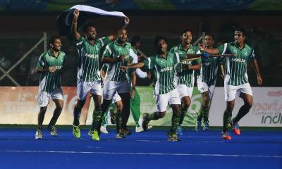 Pakistan beats Japan in Asian champions trophy hockey tournament